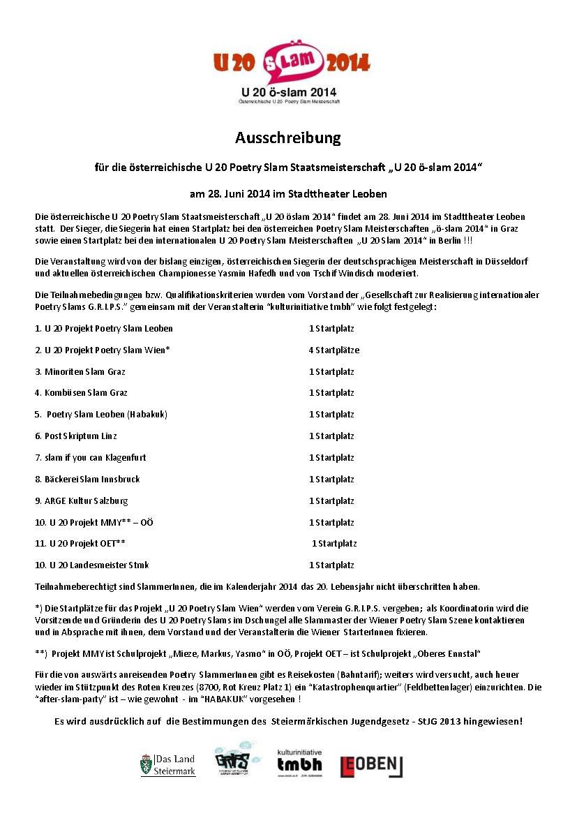 Ausschreibung u20 öslam 2014 neu-001